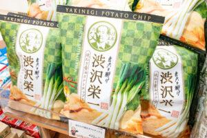 渋沢栄一焼きねぎ醤油ポテトチップス