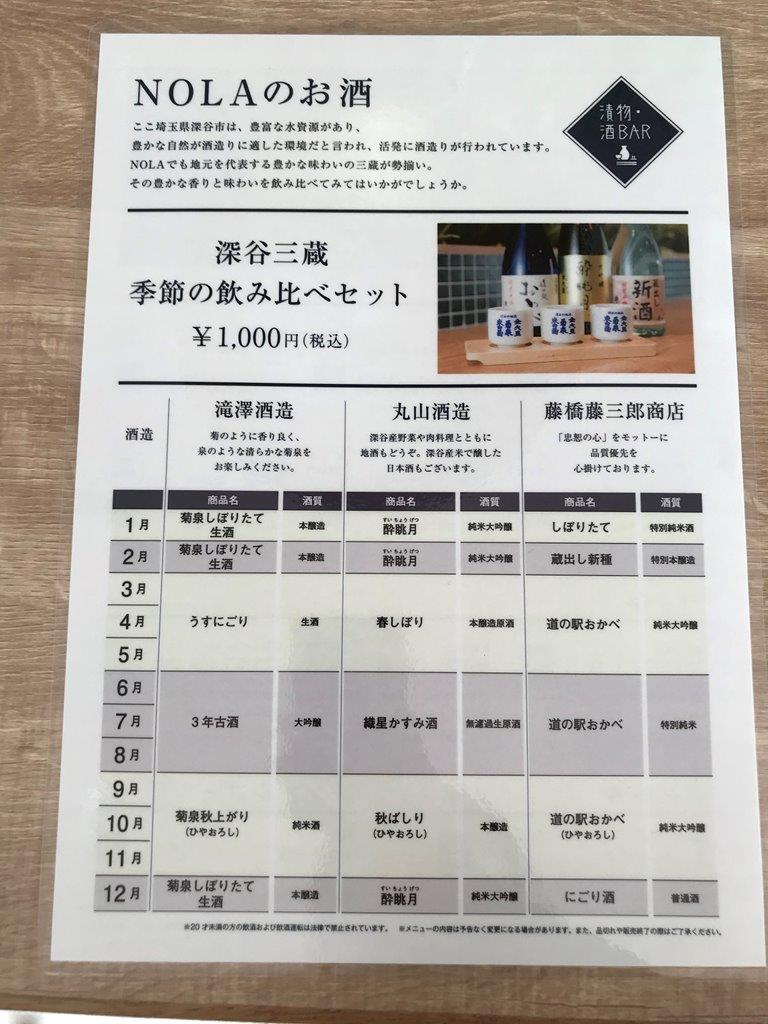 NOLA日本酒